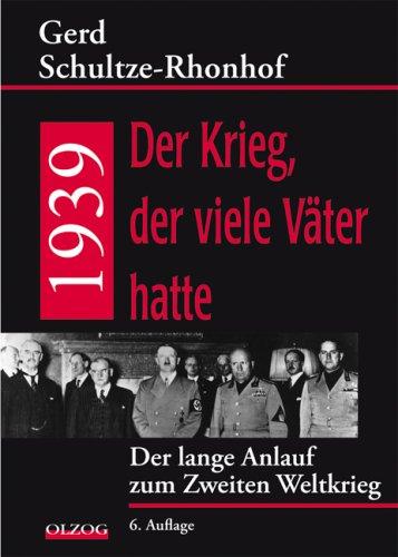 1939: Der Krieg, der viele Väter hatte PDF ePub book