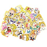 Bowinr Sailor Moon Car Stickers, Japanese Anime