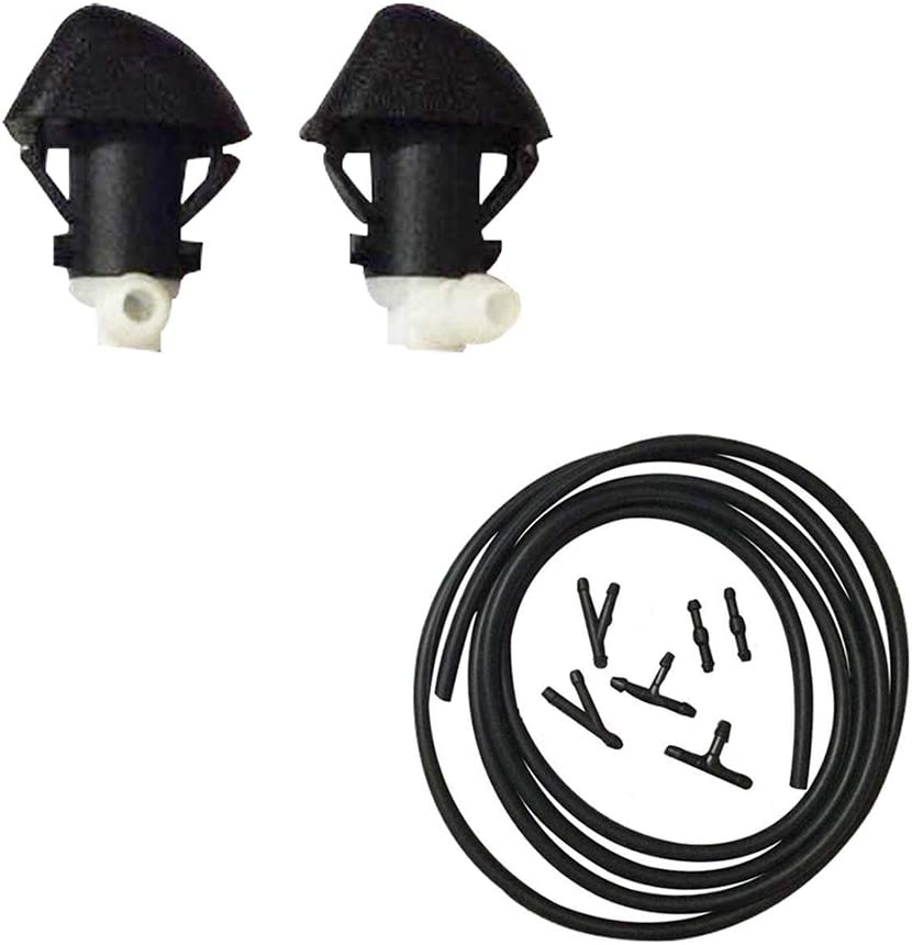 Koauto 2pcs Windshield Wiper Water Spray Jet Washer Nozzle For Honda Accord 2003-07