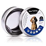 Flea Tick Control Adjustable Waterproof Collar Protect Dogs Cats - Last 8 Months Natural Plant Extracts Pet Treatment Prevention Fits All