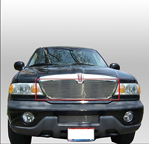 ZMAUTOPARTS Lincoln Navigator Upper Billet Grille Grill InsertHorizontal 1Pc ()
