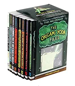 amazoncom the origami yoda files collectible 8book