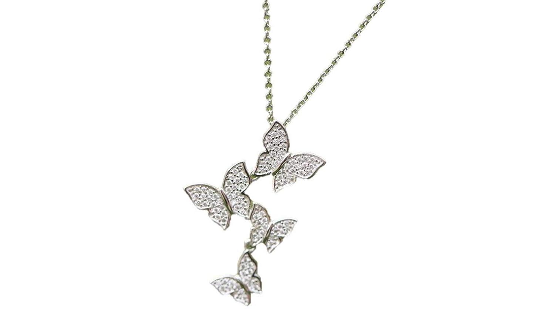 Meuble Salle De Bain Mvm ~ collier joie du papillon en argent 925 bijoux pour femme