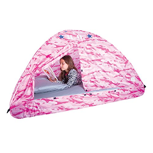 Pacific Play Tents Kids Pink Camo Bed Tent Playhouse