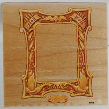 Amazon.com: Harry Potter Wood Backed Rubber Stamp of HP Picture ...