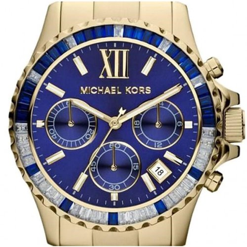 e735e5f89c88 Amazon.com  Michael Kors MK5754 Mens Golden Everest Chronograph Watch   Watches