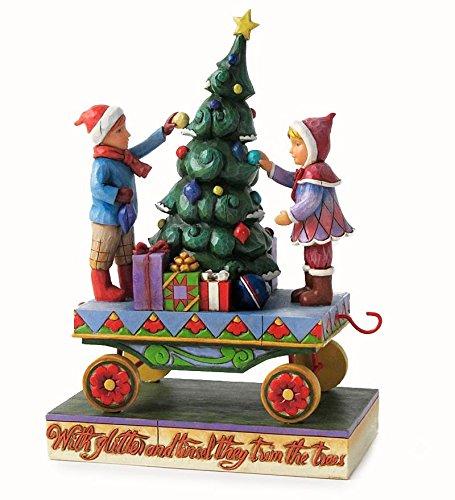Jim Shore Children Christmas Train Figurine