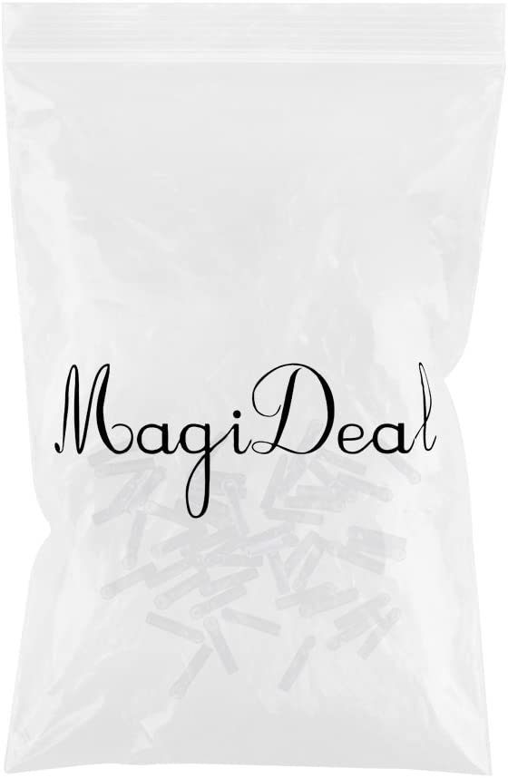 MagiDeal 20//30//50 Pieces Float Adaptors for Carp Coarse Fishing Wagglers Waggler Floats Match Rods