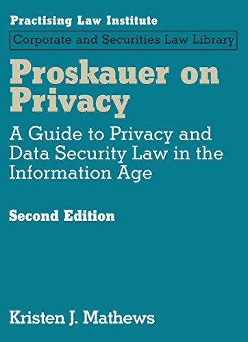 Proskauer on Privacy (2nd Edition)