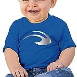 Baby Infant Michigan Wolverines Helmet Platinum Logo Cute Short-sleeve Tee