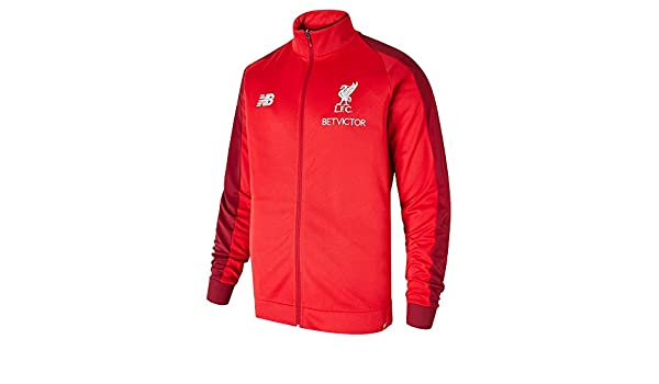 Amazon.com : New Balance Mens Liverpool FC 2018-19 Presentation Jacket : Sports & Outdoors