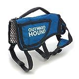 Outward Hound Kyjen  3069 ThermoVest Heat Reflective Dog Vest Winter Coat, X-Large, Blue