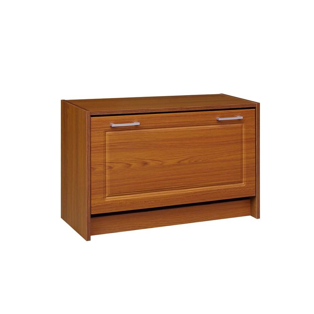 4D Concepts 29 in. W Oak Single Shoe Cabinet