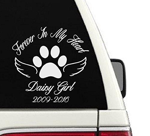 In Loving Memory Pet Custom Car Decal - ()