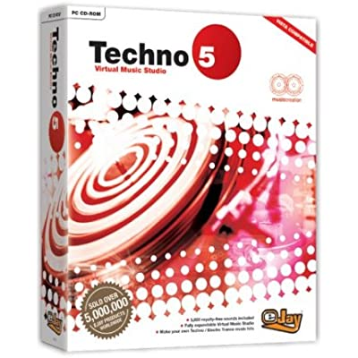 eJay Techno 5 Virtual Music Studio (PC)