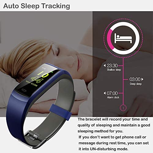 Willful Fitness Tracker, Heart Rate Monitor Activity Tracker Pedometer with Step Counter Sleep Monitor 14 Sports Tracking,Color Screen IP68 Waterproof,Fitness Watch for Men Women Kids 9