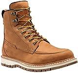 Timberland Mens Britton Hill - Moc Toe Waterproof Hiking Boot Wheat Nubuck Size 9.5