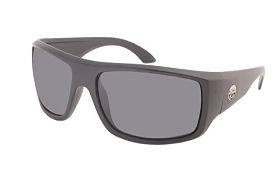 93ede31a929 Amazon.com  KOHV   Rattlesnake   Matte Black Smoke Polarized ...