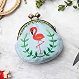 HEALLILY 1 Set Coin Purse Embroidery Pouch Making