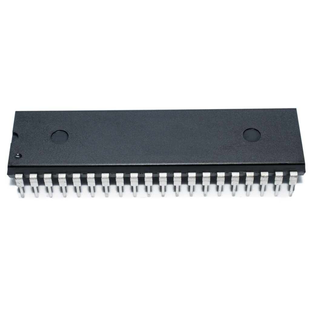 PIC16F877A-I/P PIC microcontroller EEPROM256B SRAM368B 20MHz DIP40 MICROCHIP TECHNOLOGY INC.