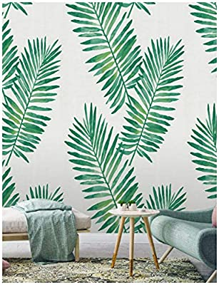 Haokhome 93024 Contact Paper Tropical Palm Peel And Stick Wallpaper Removable Green White Vinyl Self Adhesive 17 7 X 9 8ft Buy Online At Best Price In Uae Amazon Ae