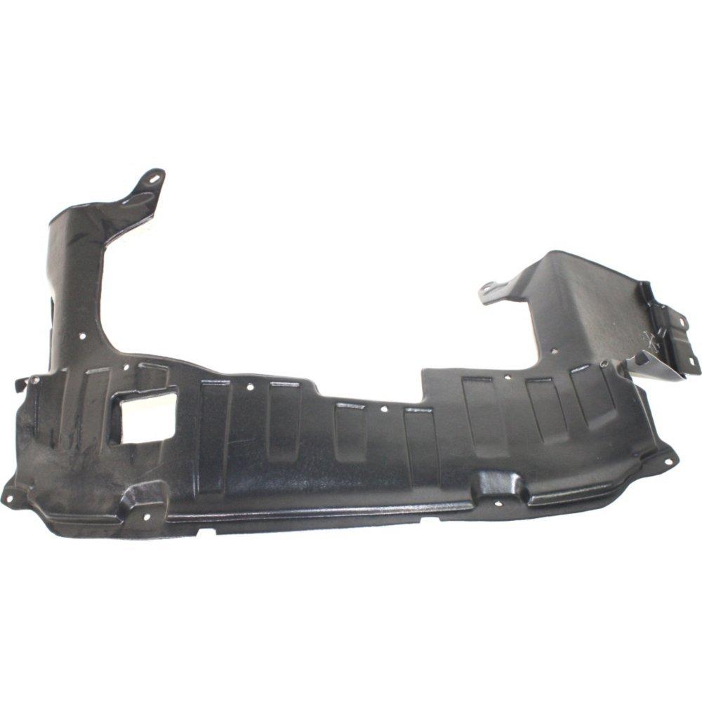 Evan-Fischer EVA20172040918 New Direct Fit Engine Splash Shield Plastic Engine Under Cover Front for Honda Fit