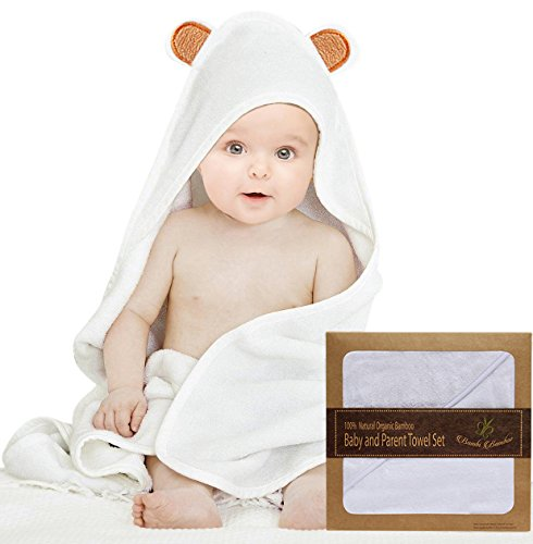 Bambi Bamboo Washcloths Hypoallergenic Absorbent product image