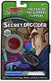 Add some mystery to travel days and test sleuthing skills with this super-cool, portable Secret Decoder mystery and activity book! In The Case of Slippery Flippers, junior detectives will help Gary Gumshoe follow the clues to solve an important case,...