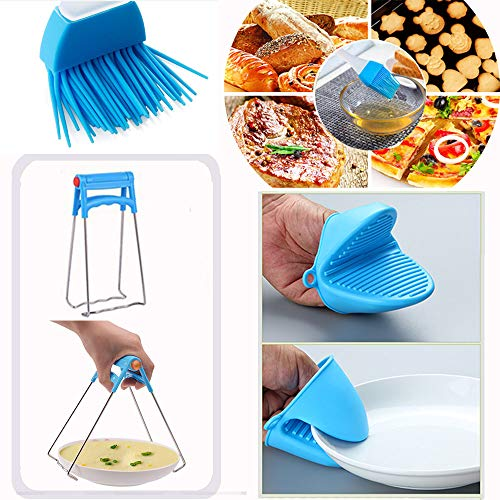 14pcs Accessories for Instant 6 QT&8QT, Steamer Basket, Silicone Bites Mold, Egg Rack,Non-Stick Springform Pan,Food, Pot Tong, Oven Mitts, Oi, 6QT&8QT by Chiyan by Chiyan (Image #3)
