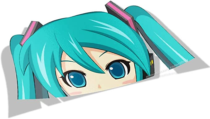 Date A Live Anime Vinyl Transfer Decal Stickers 002 Kurumi Big Head