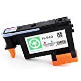 ESTON 1 PACK 940 Printhead Replacement for 940 Print Head C4901A For Officejet Pro 8000 8500 8500A 8500A Plus 8500A Premium (Magenta/Cyan)