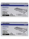 Brother TN660 (TN-660) High Yield Black Toner Cartridge, 2-Pack