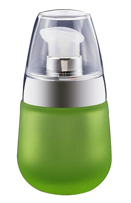 Juego de 2 Botellas de Vidrio Vacías con Bomba 1 Oz (30 ml) [