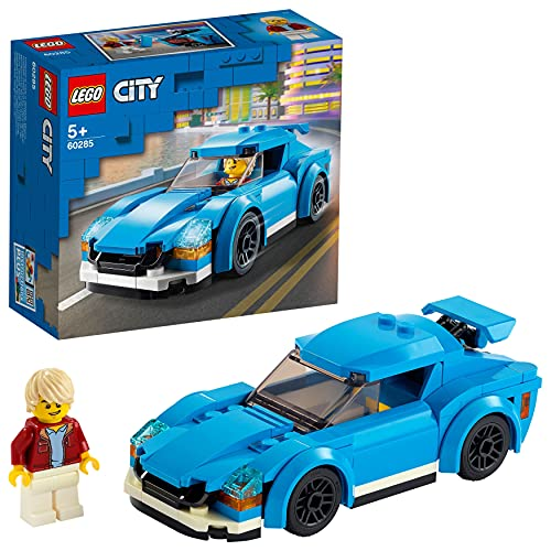 LEGO 60285 City Great Vehicles Sports Car Toy with Removable Roof, Racing Cars Building Sets