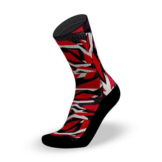 Lithe M90 Red Camo Men´s Sublimotion Calcetines Rojos Red Socks