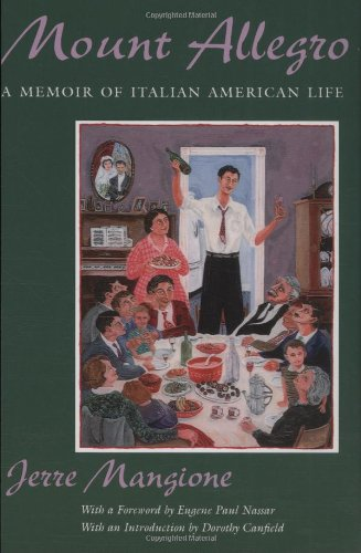 Mount Allegro: A Memoir of Italian American Life (New York Classics) Rhino Custom Mount