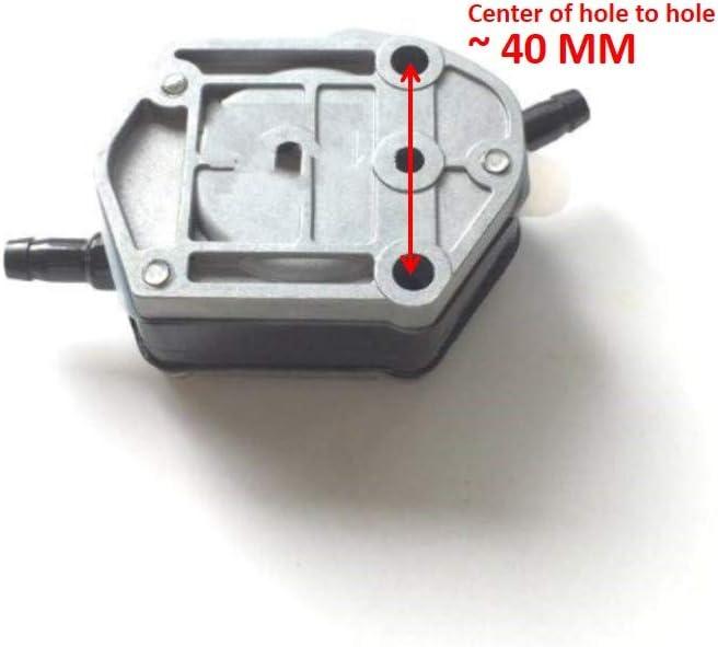 Boot Motor Kraftstoffpumpe 6A0-24410 692-24410-00-00 663-24410-00 f/ür Yamaha 2-Hub 25HP 90HP Mariner Mercury 43113 M T Sierra 18-7334 Au/ßenbordmotor