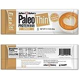 Paleo Protein Bar (Espresso) 12 Bars (20g Egg White Protein 2 Net Carbs w/100mg Organic Caffeine)