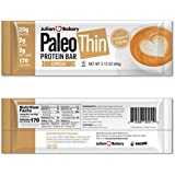 Paläo Protein Bar (Espresso) 12 Bars (20g Egg White Protein 2 Net Carbs w/100mg Organic Caffeine)