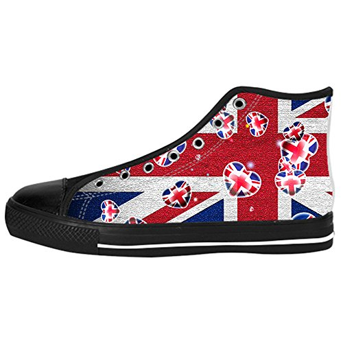 Custom Shoes for Women Cartoon High Top Canvas Casual Sneaker