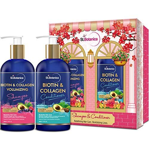 StBotanica Biotin & Collagen Volumizing Hair Shampoo + Bioti