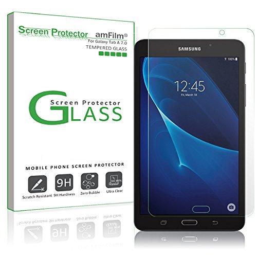 Galaxy Tab A 7.0 Screen Protector Glass , amFilm 0.33mm 2.5D