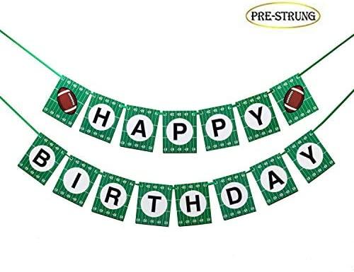 17 Pancarta de fútbol Verde para Fiesta de cumpleaños de ...