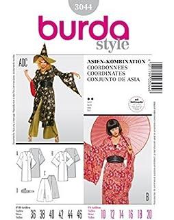 Burda 2526 Schnittmuster Kostum Fasching Karneval Orient Damen Gr