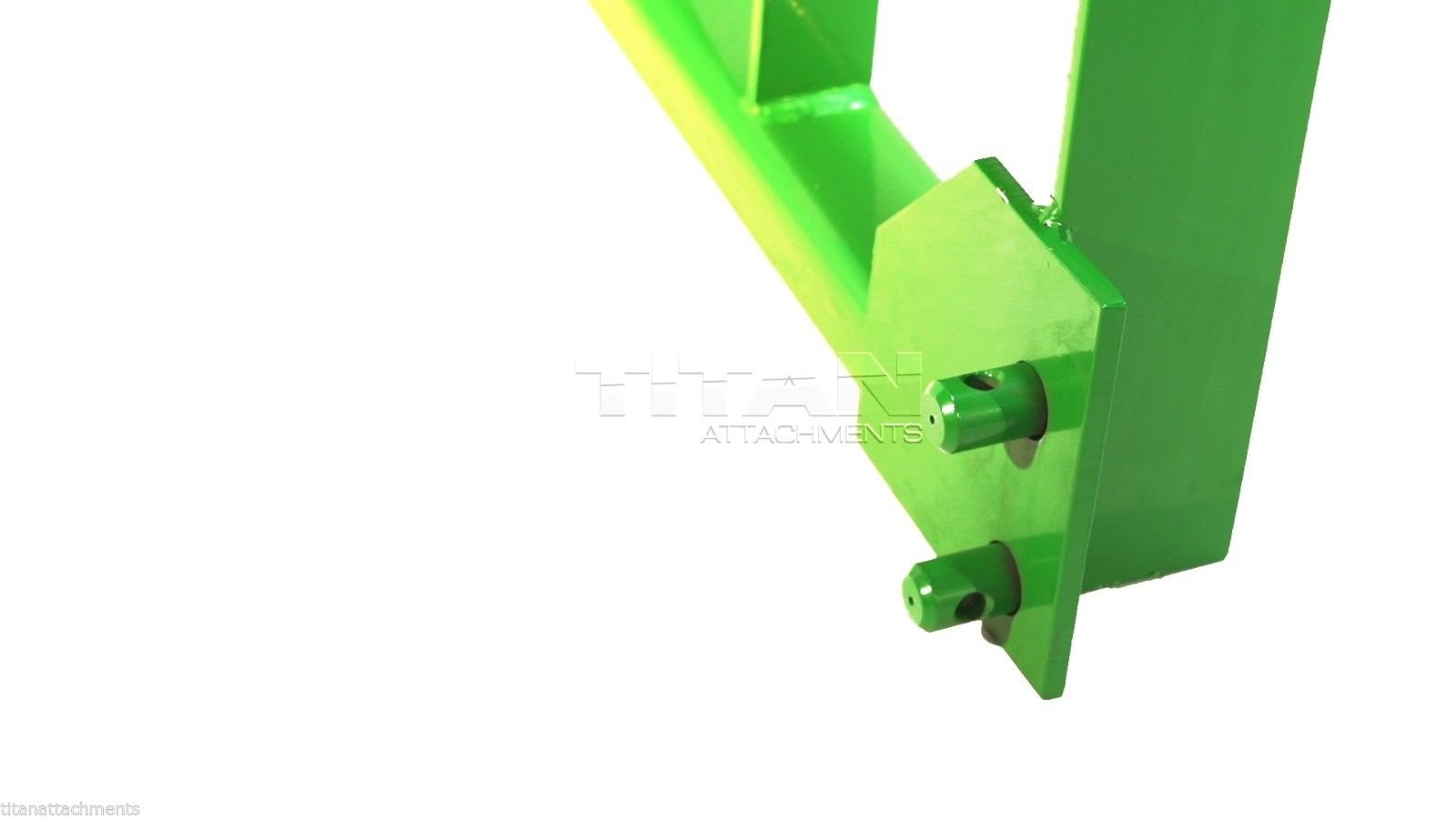 John Deere Pallet Fork Frame deere loader attachment (JDFRLD) by Titan Attachments