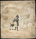 POSTER Carl Johan omfavner den gamle Telemarking Beskrivelse Karl 1763-1844 i Sverige kjent som 14 var Norway Wall Art Print A3 replica