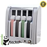 Karlash Roll On Electric Hot Depilatory Wax 4 Cartridge Heater Waxing Hair Removal Epilate