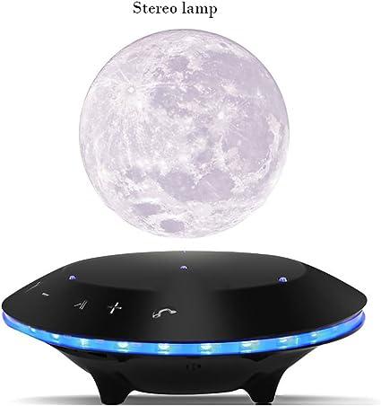 YUJIE Nuit LED Lumière lampe Lune Lévitation Magnétique OwN8n0vm