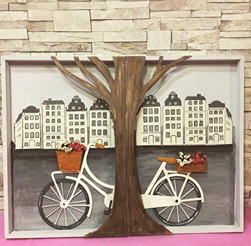 Cuadros de madera bicicleta: Amazon.es: Handmade