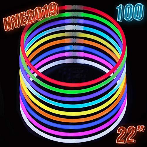 Glow Sticks Bulk Party Supplies - 100 Light